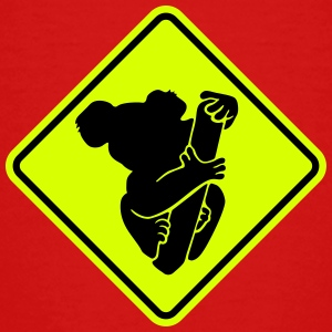 Koala face road sign Shirts - Kids' Premium T-Shirt