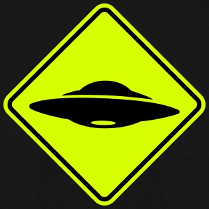 ufo road sign Hoodies & Sweatshirts - Men's Sweatshirt