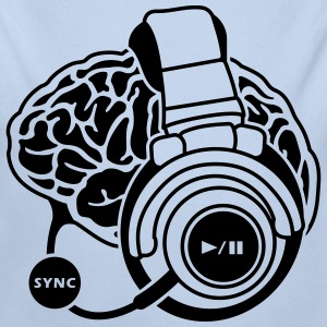 funny motifs: the brain synchronization Hoodies - Longlseeve Baby Bodysuit