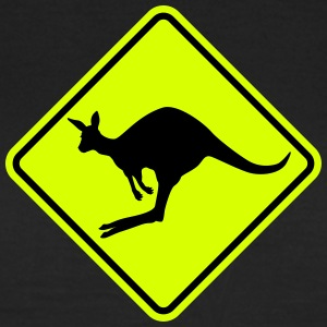 Kangaroo road sign T-Shirts - Women's T-Shirt