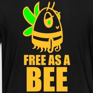 funny motifs: free the bee Shirts - Kinderen Premium T-shirt