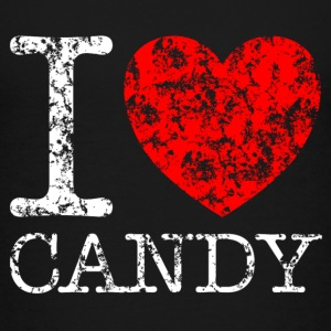 I LOVE CANDY Grunge Style T-Shirts - Kinder Premium T-Shirt