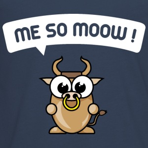 me so moow, cow, calf Long Sleeve Shirts - Teenagers' Premium Longsleeve Shirt