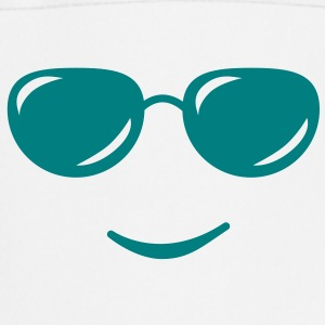 sunglasses smile reflection Delantales - Delantal de cocina