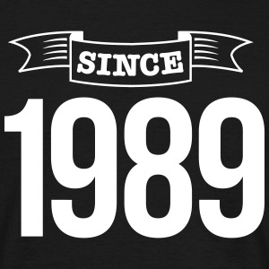 since 1989 T-shirts - Mannen T-shirt