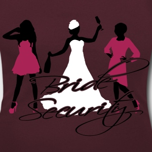 bride security T-Shirts - Women's Scoop Neck T-Shirt