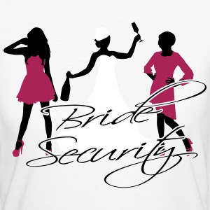 bride security T-Shirts - Women's Organic T-shirt