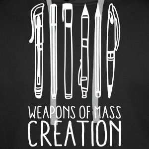 Weapons of mass creation (1c) Pullover & Hoodies - Männer Premium Hoodie