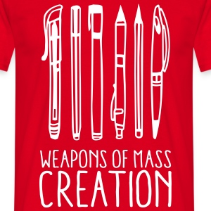 Weapons of mass creation (1c) T-Shirts - Men's T-Shirt