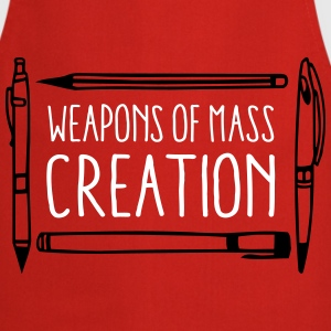 Weapons of mass creation designer (1c or 2c)  Aprons - Cooking Apron