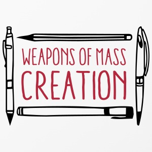 Weapons of mass creation designer (1c or 2c) Coques pour portable et tablette - Coque rigide iPhone 4/4s