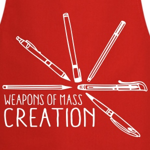 Weapons of mass creation 3 (1c)  Aprons - Cooking Apron