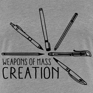 Weapons of mass creation 3 (1c) T-Shirts - Frauen Premium T-Shirt