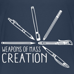 Weapons of mass creation 3 (1c) Tee shirts - T-shirt Premium Ado