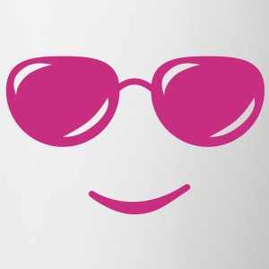 sunglasses smile reflection Kopper & flasker - Kopp
