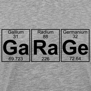 Ga-Ra-Ge (garage) - Full T-Shirts - Men's Premium T-Shirt
