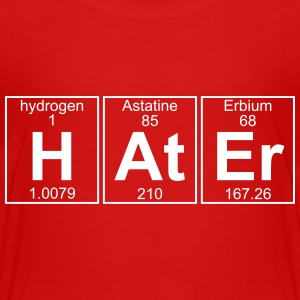 H-At-Er (hater) - Full Shirts - Teenage Premium T-Shirt