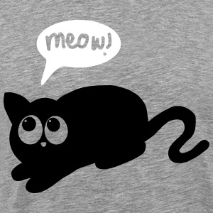 cat meow T-Shirts - Men's Premium T-Shirt