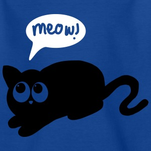 cat meow Shirts - Teenage T-shirt