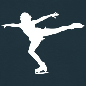 figure skating T-Shirts - Men's T-Shirt