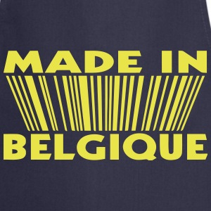 made in Belgique 3D code (1c)  Aprons - Cooking Apron