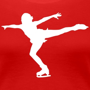 figure skating T-Shirts - Women's Premium T-Shirt
