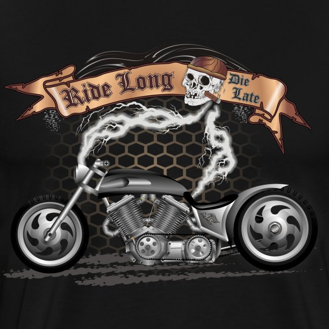 Custom Bike / Motorcycle T-shirt