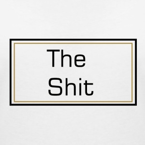 The Shit T-shirts - Vrouwen T-shirt met V-hals