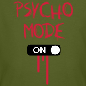 Psycho Mode ON T-Shirts - Männer Bio-T-Shirt