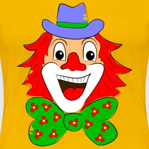 clown karneval T-Shirts - Frauen Premium T-Shirt