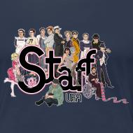 Diseño ~ Camiseta Staff chicas