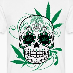 T-shirt Big skull cana