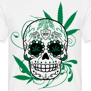 T-shirt Big skull cana - Tee shirt Homme