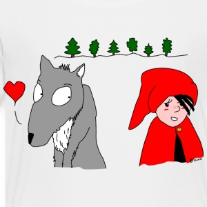 in love with little red riding hood Shirts - Kids' Premium T-Shirt