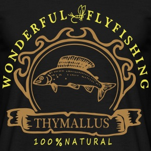 Wonderful Flyfishing Äsche - Männer T-Shirt