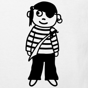 Pirate with saber Shirts - Kids' Organic T-shirt