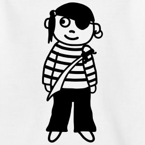 Pirate with saber Shirts - Kids' T-Shirt