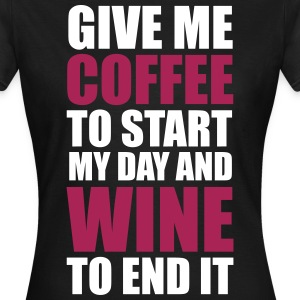 Coffee & Wine T-Shirts - Women's T-Shirt