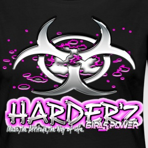 harder'z girls power Manches longues - T-shirt manches longues Premium Femme