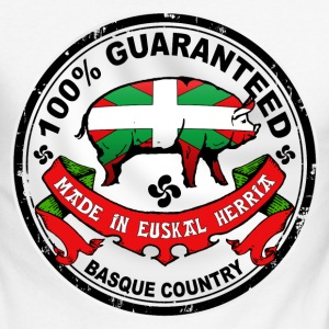 cochon du pays basque Long sleeve shirts - Men's Long Sleeve Baseball T-Shirt