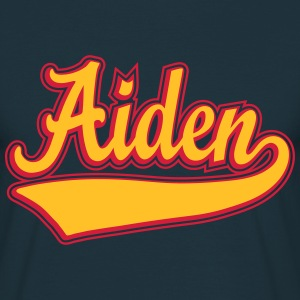Aiden - The name as a sport swash T-Shirts - Men's T-Shirt