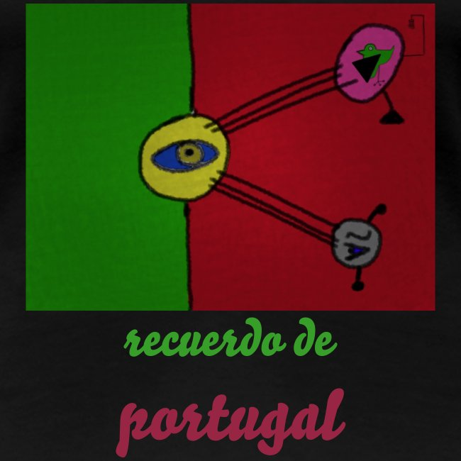 T-Shirt de senhora que visita a pátria do surrealismo