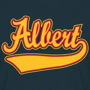 Albert - The name as a sport swash T-Shirts - Men's T-Shirt