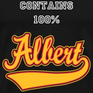 Albert - The name as a sport swash T-Shirts - Men's Premium T-Shirt