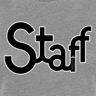 Diseño ~ Camiseta mujer Staff