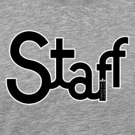 Diseño ~ Camiseta hombre Staff