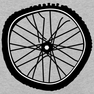 A broken bicycle tire Long Sleeve Shirts - Kids' Premium Longsleeve Shirt