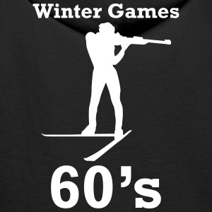 winter games 60s biathlon Hoodies & Sweatshirts - Men's Premium Hoodie