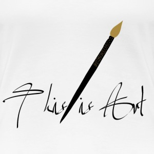 This is Art Camisetas - Camiseta premium mujer