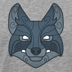 Tribal wolf mask - Men's Premium T-Shirt